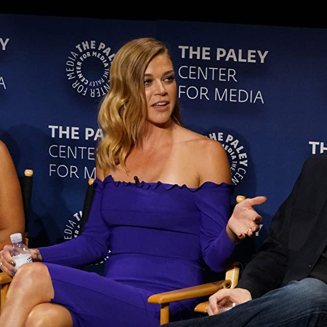 Penny Johnson Jerald, Seth MacFarlane, and Adrianne Palicki at an event for The Orville (2017)