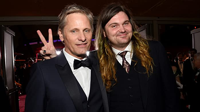 2017 Oscars Photos We Love: Viggo Mortensen and Henry Mortensen