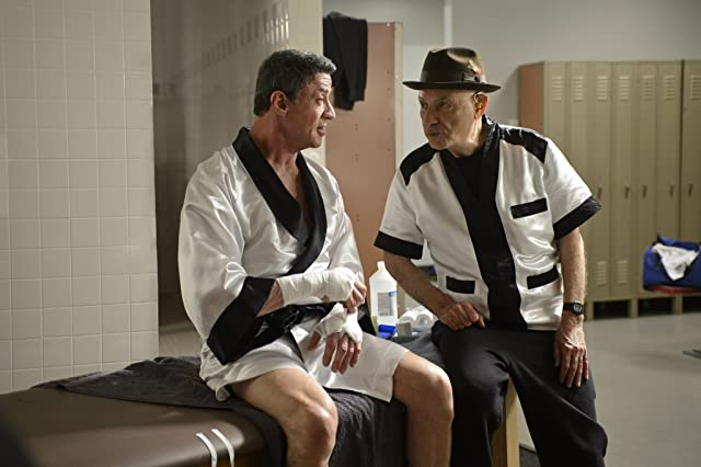 Sylvester Stallone and Alan Arkin in Grudge Match (2013)