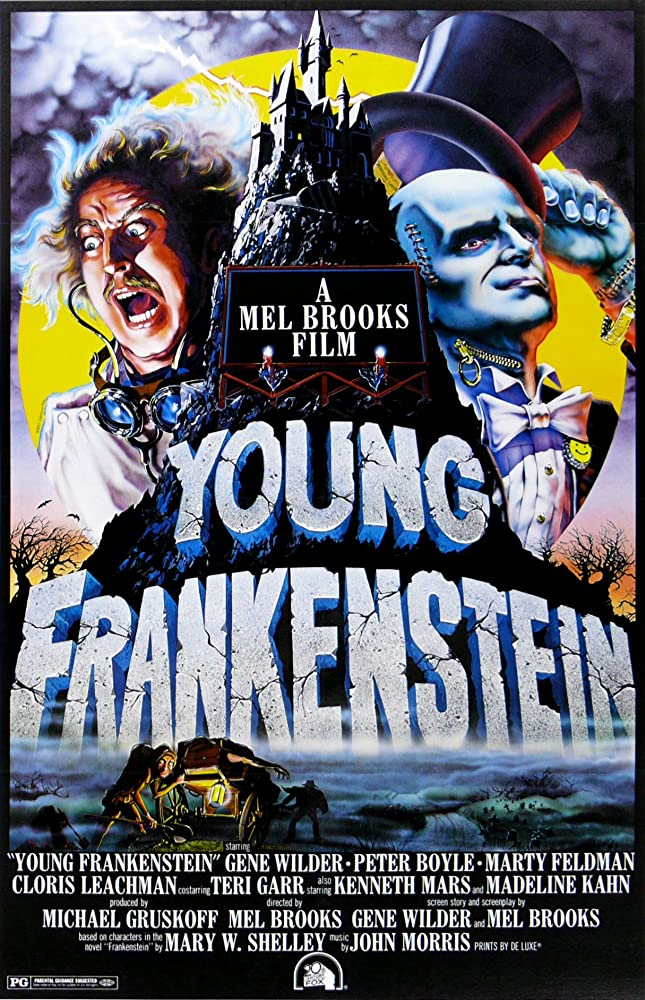 Young Frankenstein (1974) MV5BMTEwNjg2MjM2ODFeQTJeQWpwZ15BbWU4MDQ1MDU5OTEx._V1_SY1000_CR0,0,645,1000_AL_