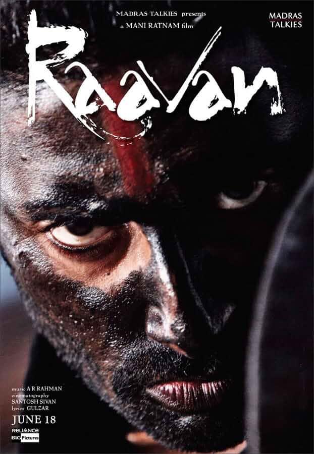 Raavan 2010 Full Hindi Movie 480p BluRay 300MB