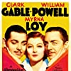 Clark Gable, Myrna Loy, and William Powell in Manhattan Melodrama (1934)