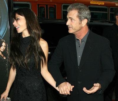 Mel Gibson and Oksana Grigorieva at X-Men Origins: Wolverine (2009)