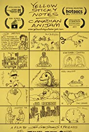 Yellow Sticky Notes: Canadian Anijam Poster