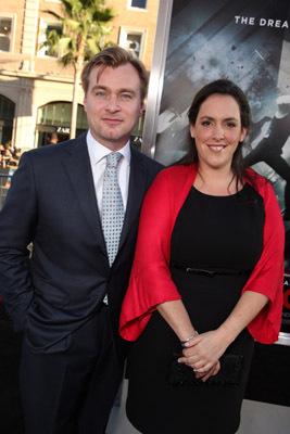 Christopher Nolan and Emma Thomas at Inception (2010)