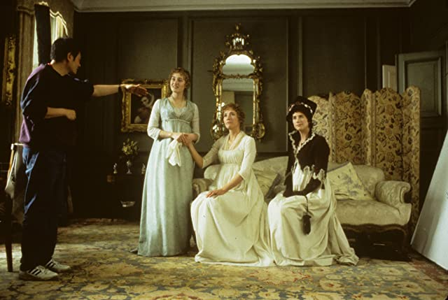 Ang Lee, Emma Thompson, Kate Winslet, and Imogen Stubbs in Sense and Sensibility (1995)