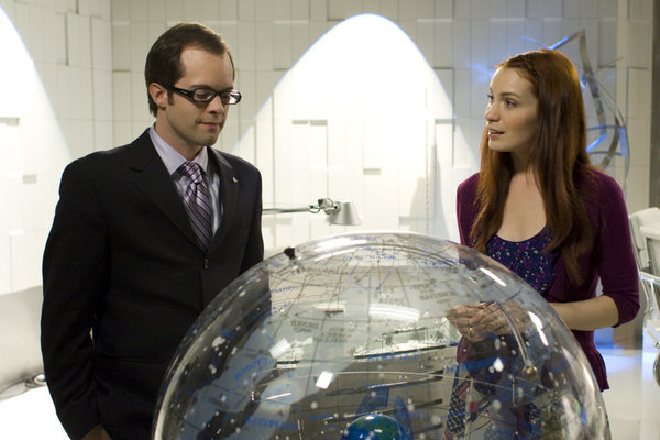 Neil Grayston and Felicia Day in Eureka (2006)