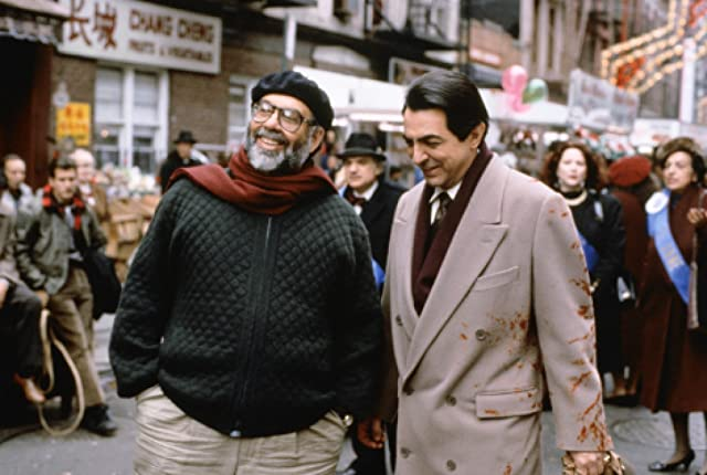 Francis Ford Coppola and Joe Mantegna in The Godfather: Part III (1990)