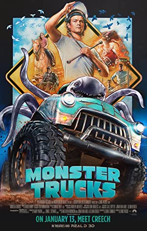 Monster Trucks 2016 English to Hindi Watch Full Movie Online for FREE