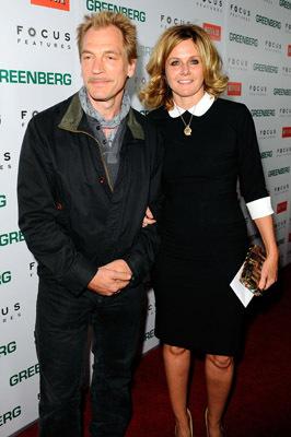 Julian Sands and Susan Traylor at Greenberg (2010)