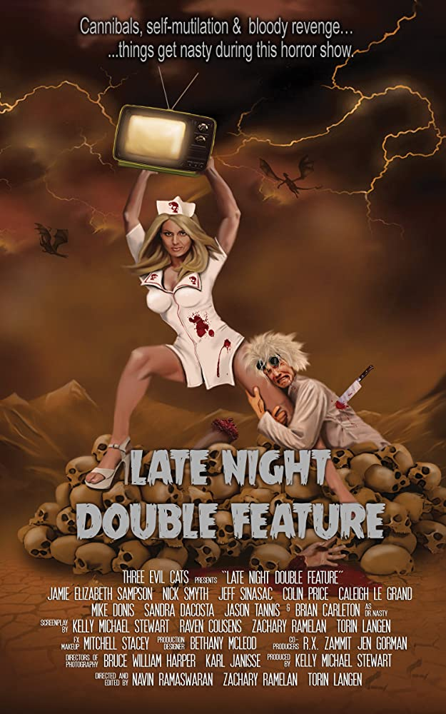 Late Night Double Feature 2016 720p HEVC WEB-DL x265 400MB
