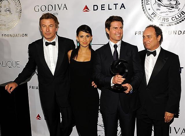 Tom Cruise, Alec Baldwin, Kevin Pollak, and Hilaria Baldwin