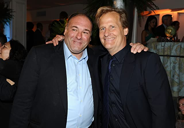 Jeff Daniels and James Gandolfini at an event for The Newsroom (2012)