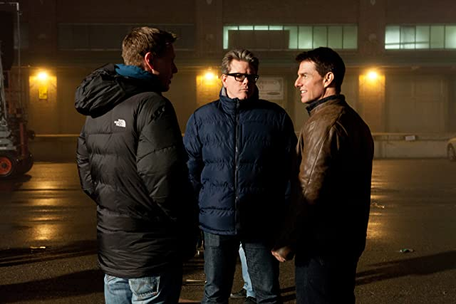 Tom Cruise and Christopher McQuarrie in Jack Reacher (2012)