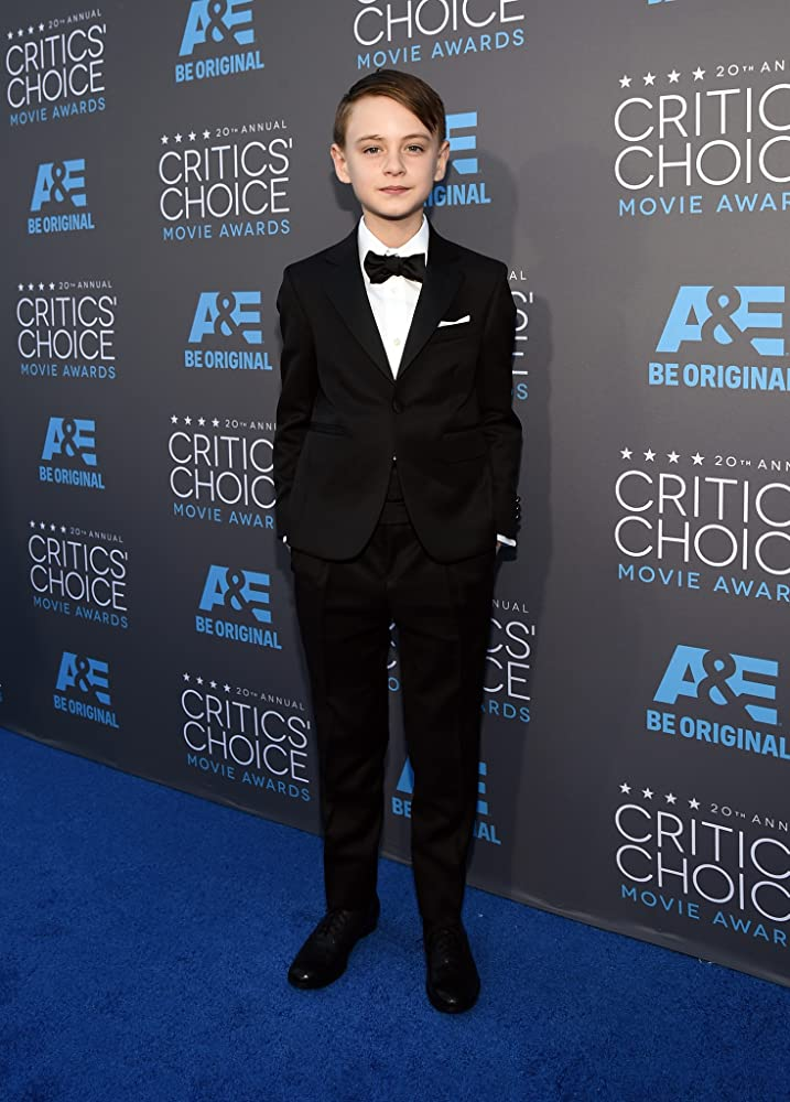 Child actor Jaeden Lieberher on Critics' Choice Movie Awards