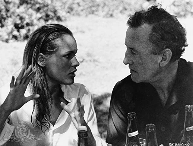 Ursula Andress and Ian Fleming in Dr. No (1962)