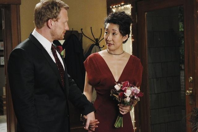 Kevin McKidd and Sandra Oh in Grey's Anatomy (2005)