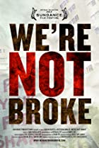 Image of We're Not Broke