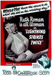 Lightning Strikes Twice(1951) Poster - Movie Forum, Cast, Reviews