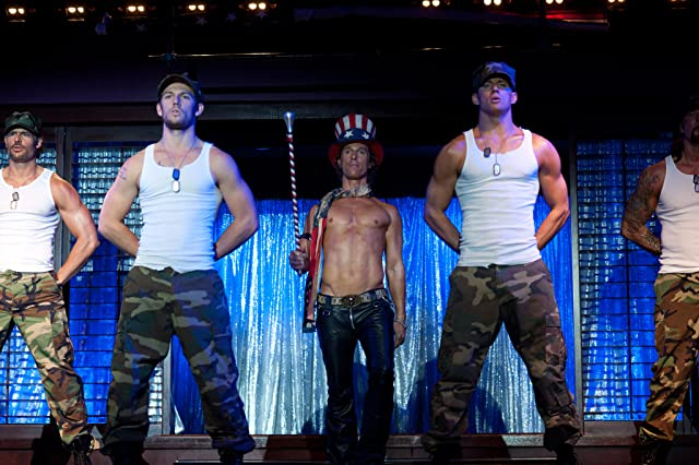 Matthew McConaughey, Joe Manganiello, Kevin Nash, Channing Tatum, and Alex Pettyfer in Magic Mike (2012)