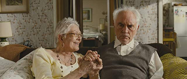 Vanessa Redgrave and Terence Stamp in Unfinished Song (2012)