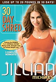Jillian Michaels - 30 Day Shred Poster