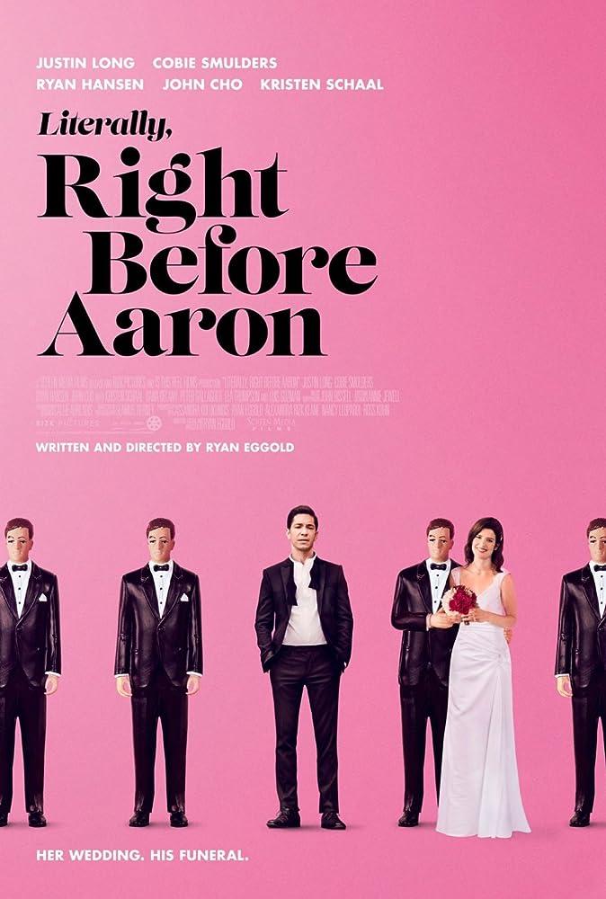 دانلود زیرنویس فارسی فیلم Literally, Right Before Aaron 2017