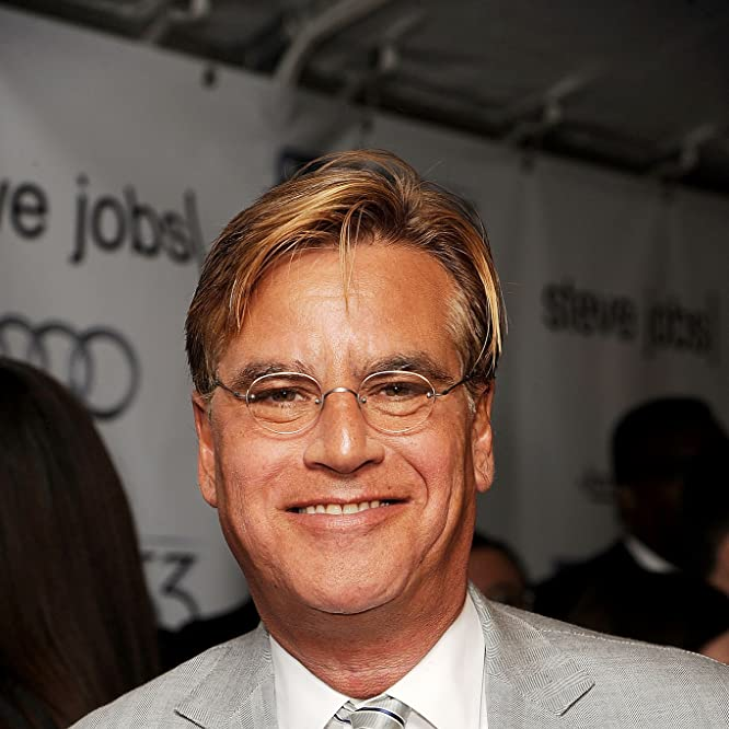 Aaron Sorkin at an event for Steve Jobs (2015)