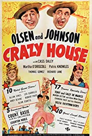 Crazy House (1943) Poster - Movie Forum, Cast, Reviews