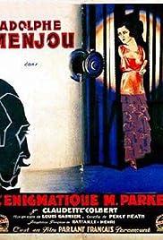 L'énigmatique Monsieur Parkes Poster