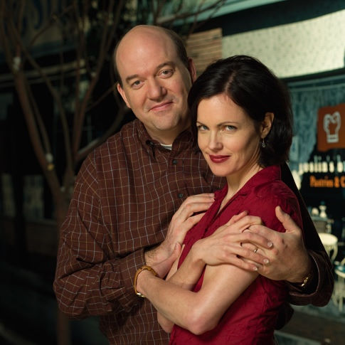 Elizabeth McGovern and John Carroll Lynch in The Brotherhood of Poland, New Hampshire (2003)