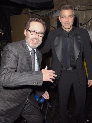 George Clooney and Dennis Miller
