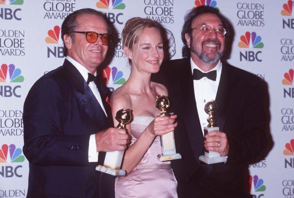 Helen Hunt, Jack Nicholson, and James L. Brooks