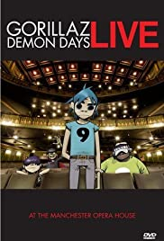Gorillaz: Live in Manchester (2006) Poster - TV Show Forum, Cast, Reviews