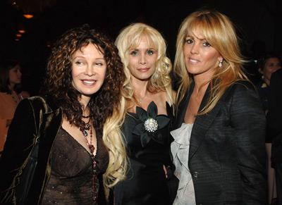 Jaid Barrymore, Victoria Gotti, and Dina Lohan at Entourage (2004)