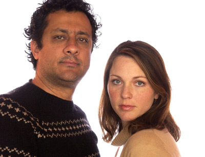 Kelli Williams and Ajay Sahgal at It's a Shame About Ray (2000)
