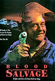 Blood Salvage (1990) Poster - Movie Forum, Cast, Reviews