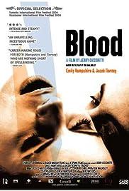Blood(2004) Poster - Movie Forum, Cast, Reviews