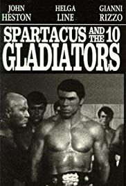 Spartacus and the Ten Gladiators Poster