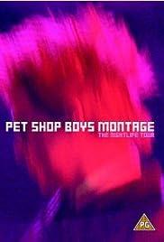 Pet Shop Boys: Montage - The Nightlife Tour Poster