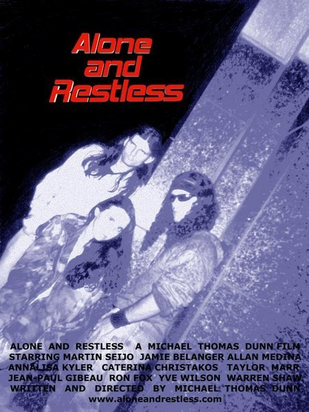 Michael Thomas Dunn, Jamie Belanger, and Martin Seijo in Alone and Restless (2004)