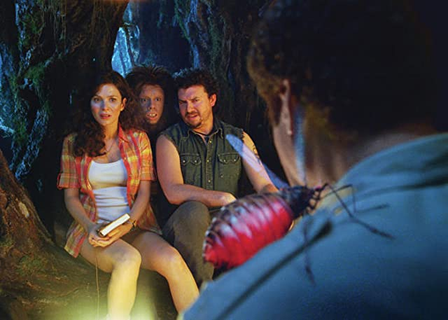 Will Ferrell, Anna Friel, Danny McBride, and Jorma Taccone in Land of the Lost (2009)