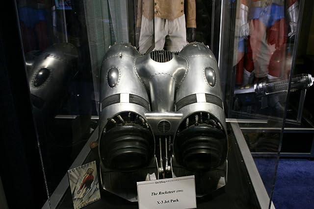 Original Disney prop displayed at D23 booth