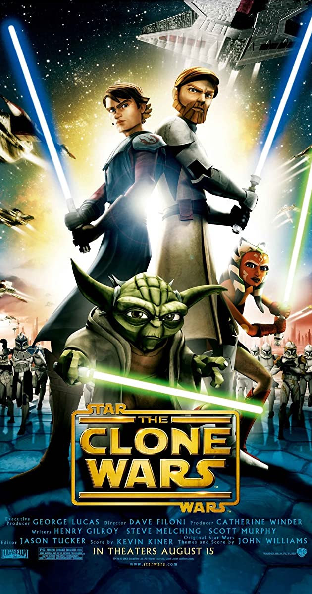 Star Wars The Clone Wars 2008  IMDb