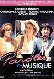 Paroles et musique (1984) Poster - Movie Forum, Cast, Reviews