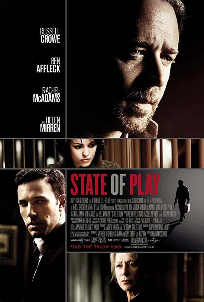 Poster State of Play (2009) Full HD Movie Download Dual Audio Hindi Free 720p