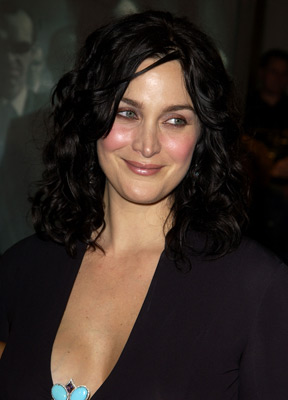 Carrie-Anne Moss at The Matrix Revolutions (2003)