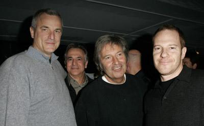 Nick Cassavetes, Toby Emmerich, Russell Schwartz, and Robert Shaye at Alpha Dog (2006)