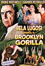 Bela Lugosi Meets a Brooklyn Gorilla Poster