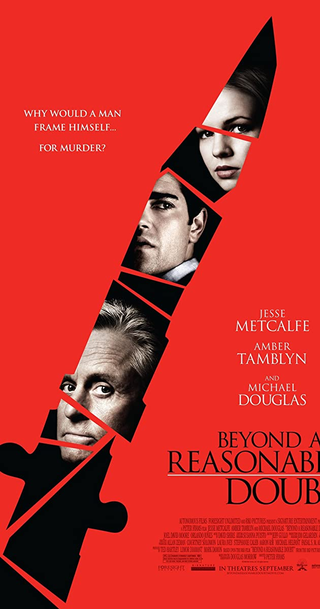 Protu Nesuvokiama / Beyond a Reasonable Doubt (2009) Online